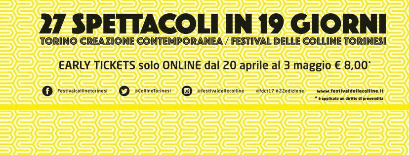 Torino Creazione Contemporanea – Festival delle Colline | giugno(Torino)