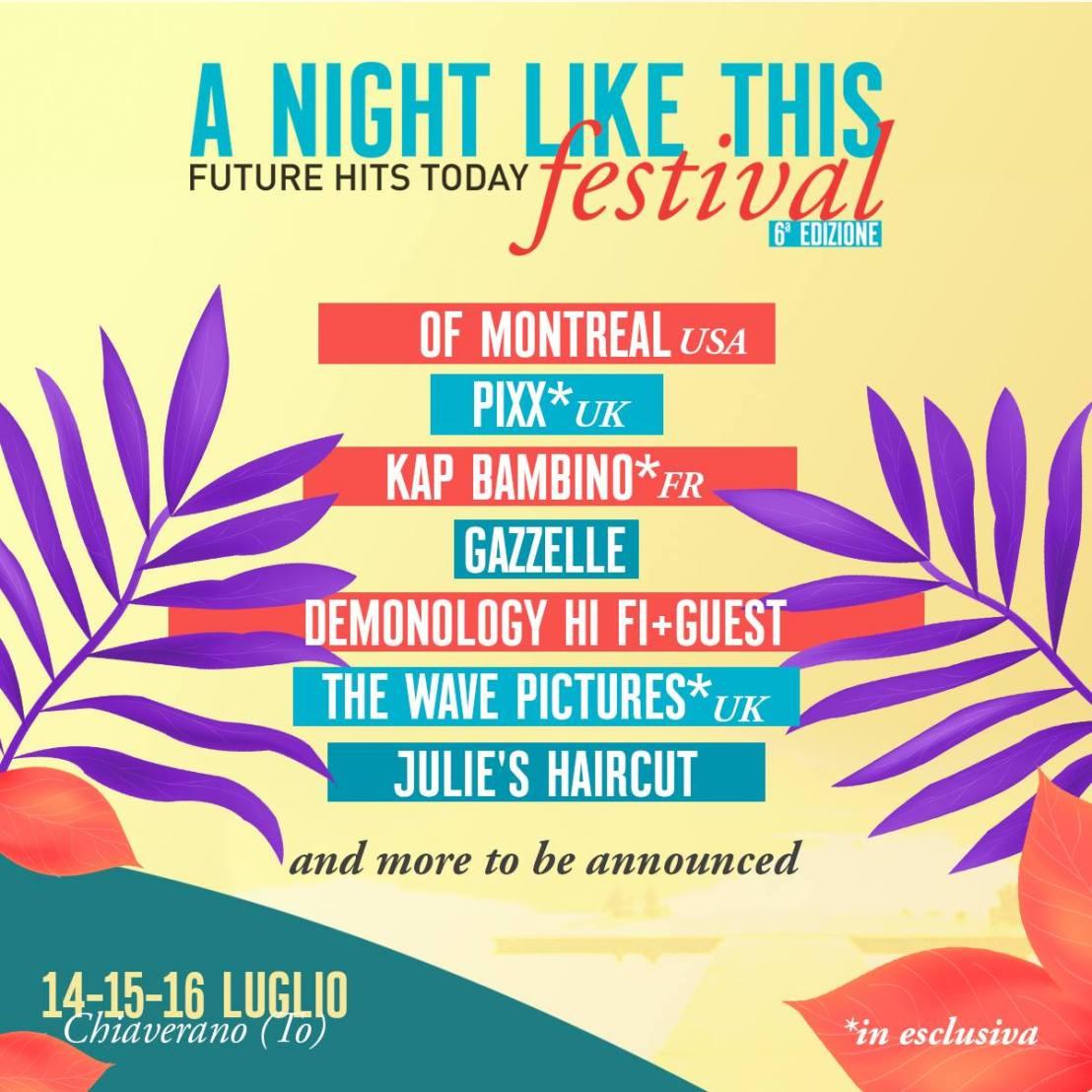 A Night Like This (Chiaverano) |luglio