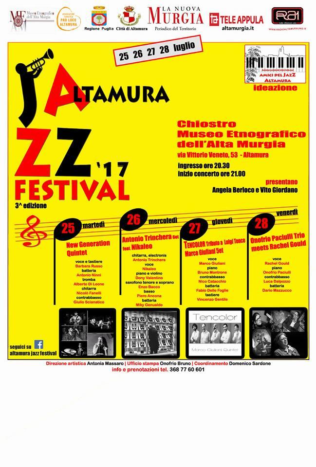 Altamura Jazz Festival |luglio