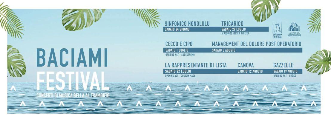 Baciami Festival (Calafuria) |giugno-agosto