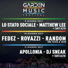 Garden Music Festival (Aosta) |giugno