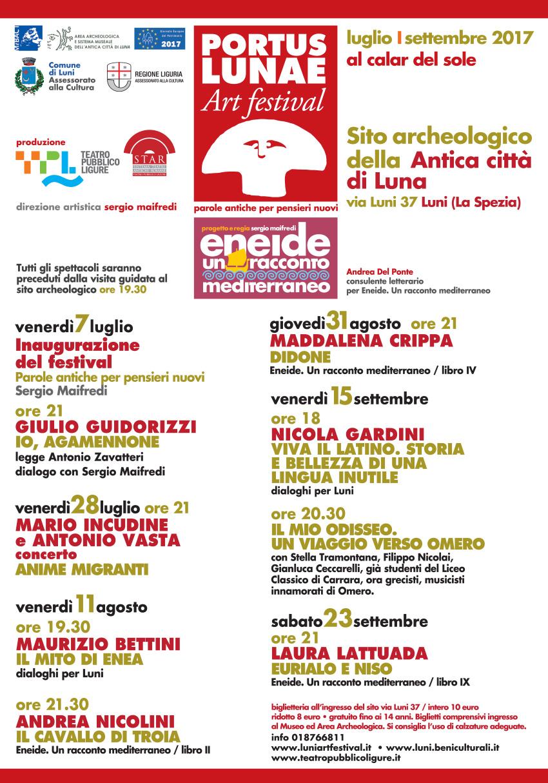 Portus Lunae Arts Festival (Luni) |luglio
