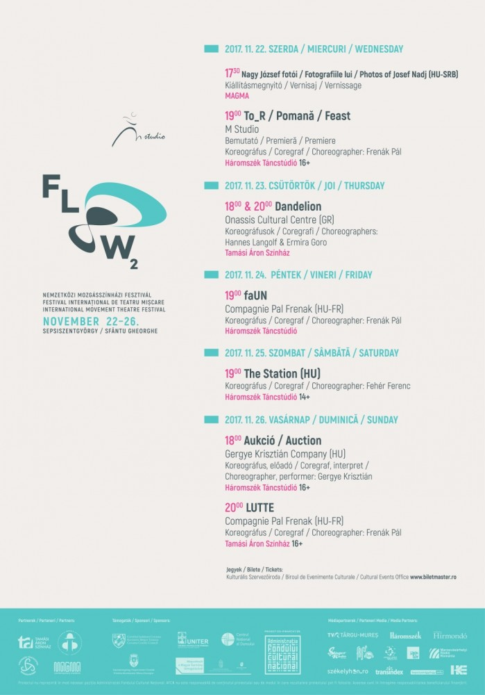 #bando #Romania FLOW – International Movement Theatre Festival