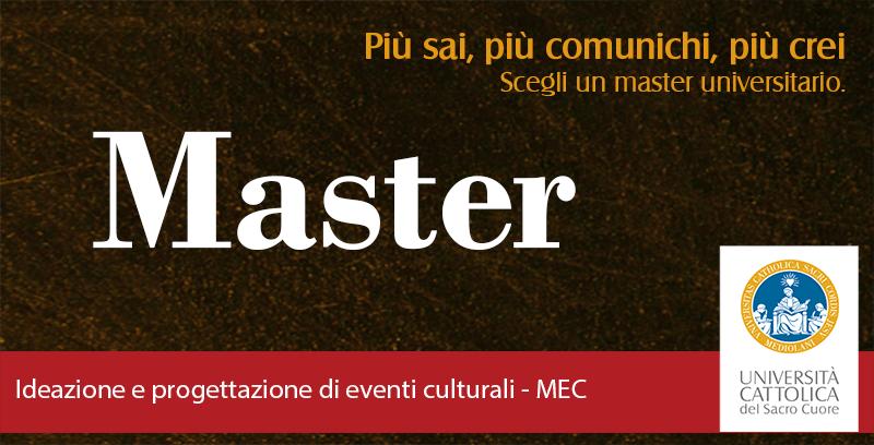 #bando L'Università Cattolica e trovafestival offrono una borsa di studio per unMaster